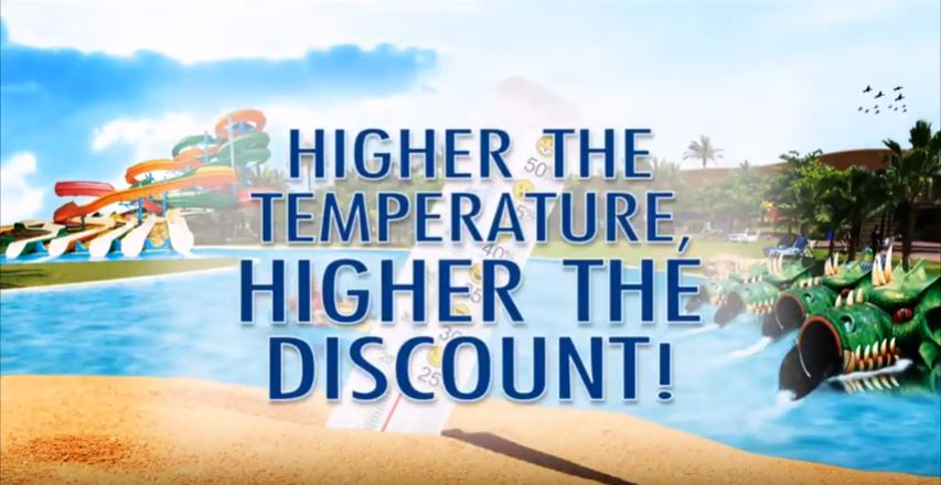 Dreamland Higher the Temperature, Higher the Discount – TVC