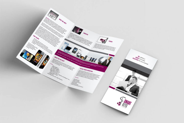 Smartkeys Trifold Brochure
