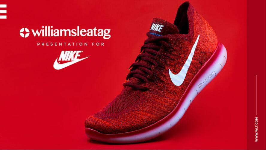 Nike – Facebook Mock-up Presentation