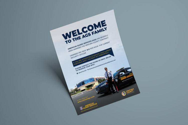 AGS Welcome Flyer