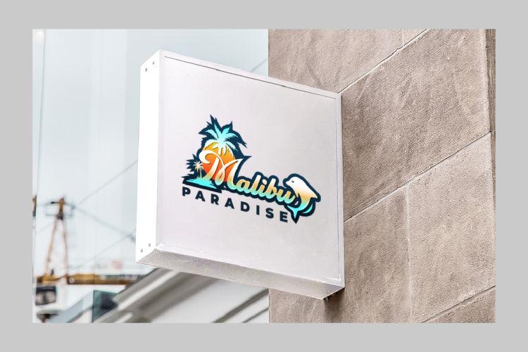 Malibu Paradise – Logo