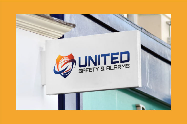 United Safety & Alarms – Branding