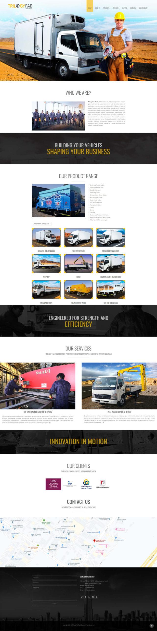 TrilogyFab Truck Bodies
