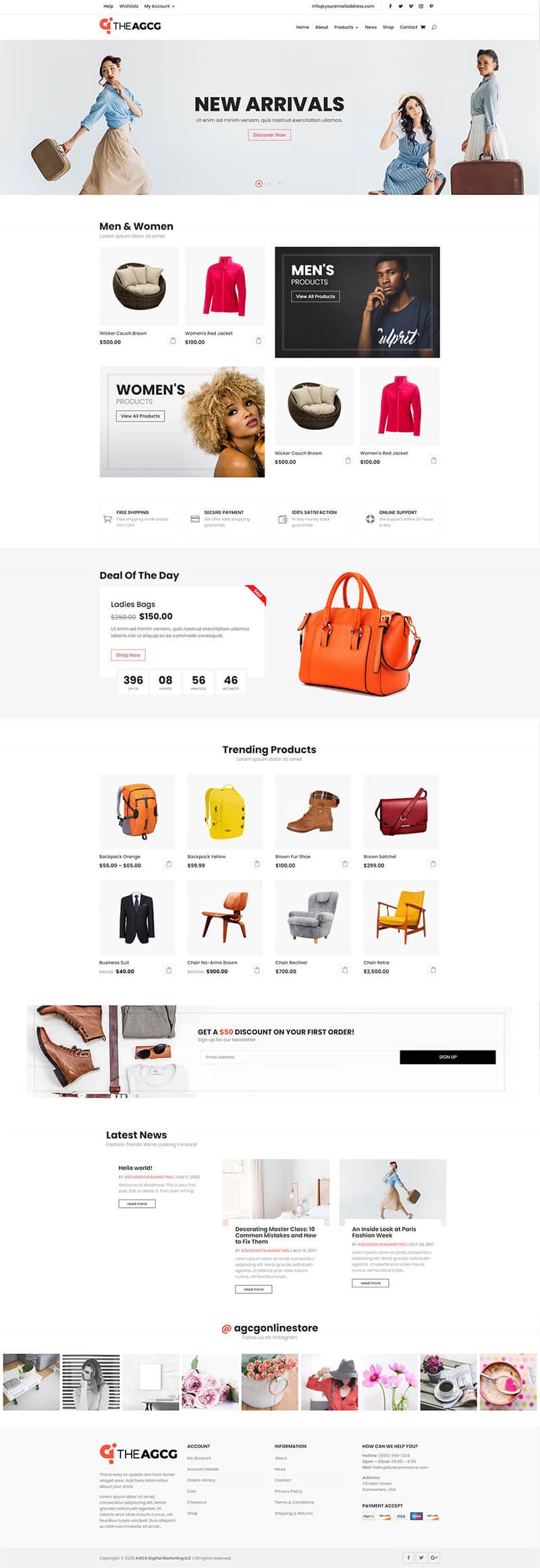 Dshop-0003 Homepage
