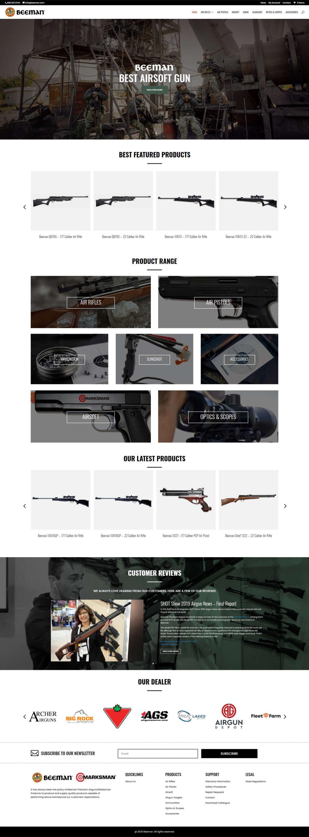 Beeman Homepage