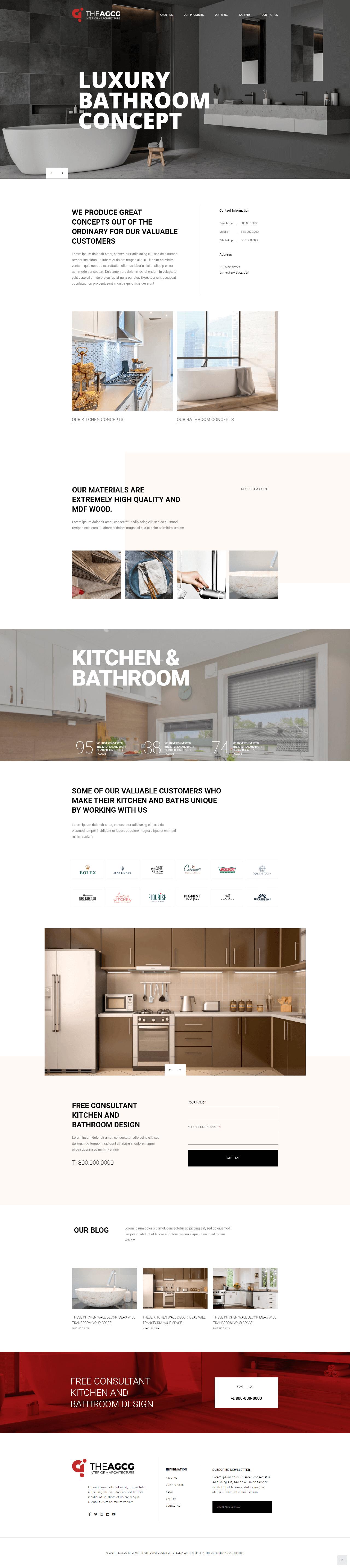The AGCG Interior Architecture Homepage