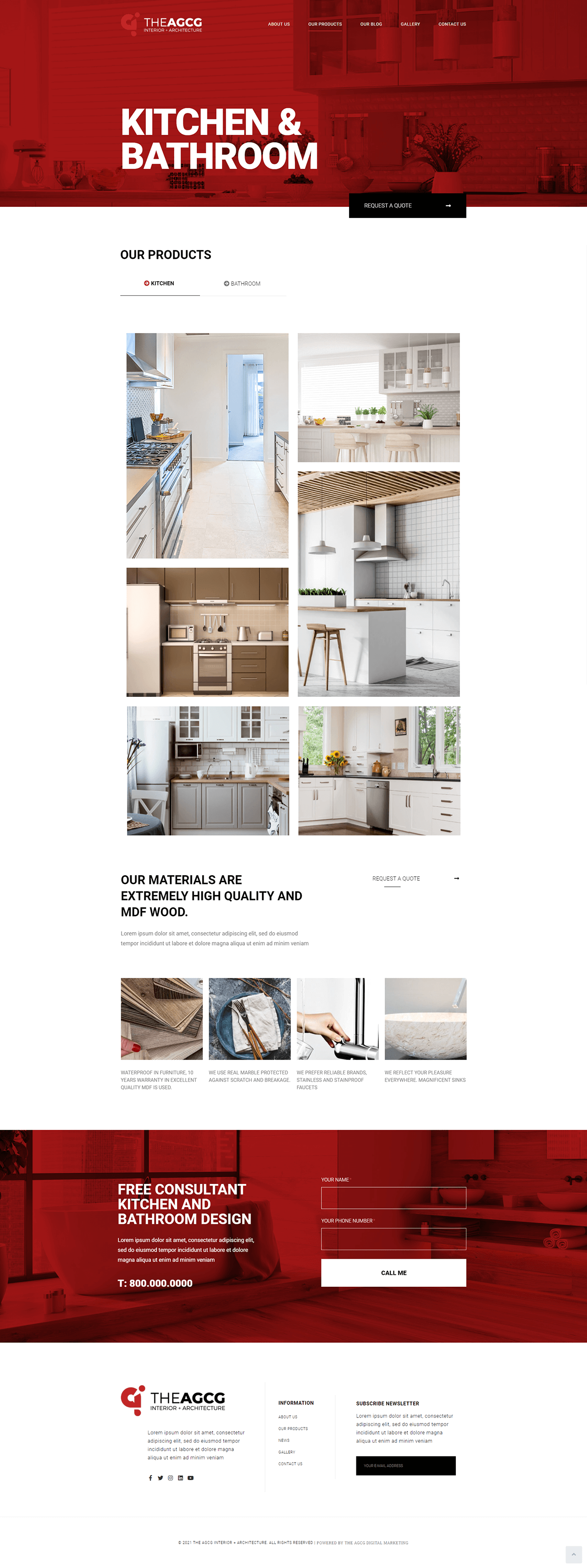The AGCG Interior Architecture Product